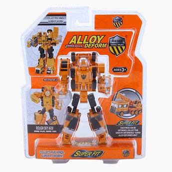 Transforming Truck Converting Action Figure Toy