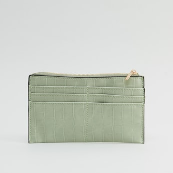 Textured Wallet with Cardholders