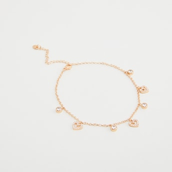 Studded Charms Anklet