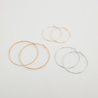 Set of 3 - Assorted Hoops