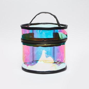See Through Pouch with Top Handle