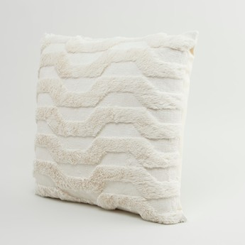 Patterned Filled Cushion - 45x45 cms
