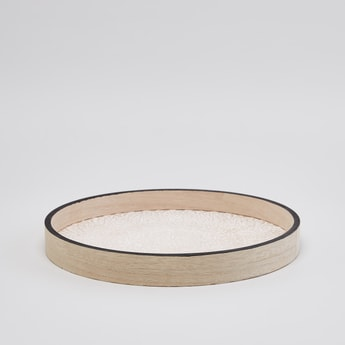 Printed Round Serving Tray - 30 cms