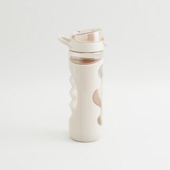 Spout Water Bottle with Flip Open Lid