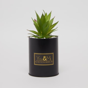 Artificial Plant with Decorative Pot