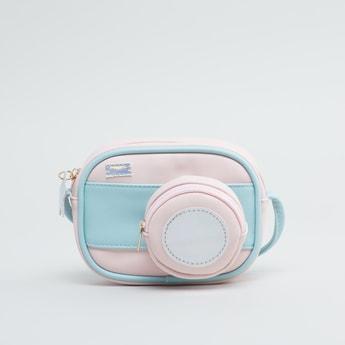 Panelled Crossbody Bag