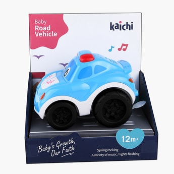 Kaichi Free Wheel Toy Car with Music and Lights