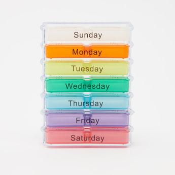 Printed 7 Days Pill Box