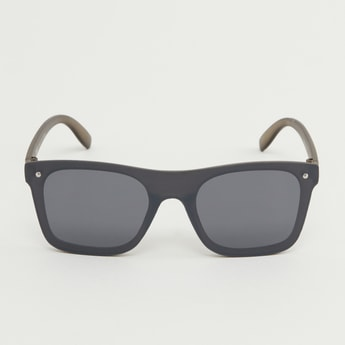 Wayfarer Sunglasses with Metallic Stud Detail