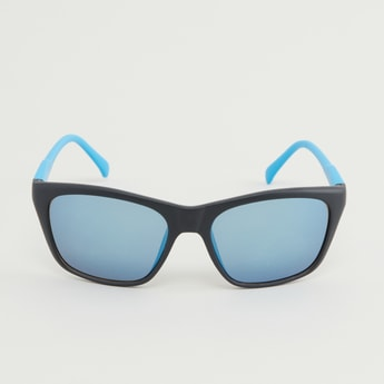 Colourblock Biker Sunglasses