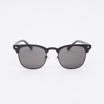 Clubmaster Sunglasses with Nose Pads