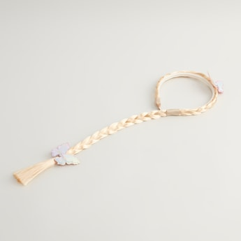 Applique Detail Hair Band with Braid
