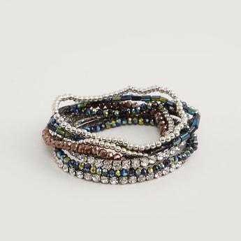 Set of 8 - Beaded Bracelet