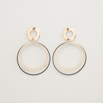 Circular Drop Earrings