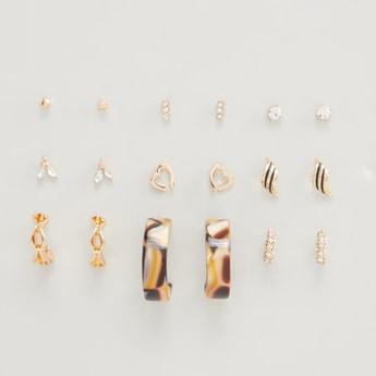 9-Piece Stud Earrings Set