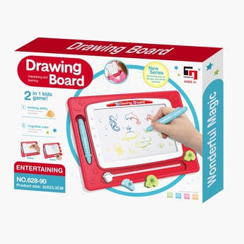 2-in-1 Drawing Magnetic Board