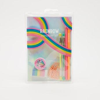 8-Piece Rainbow Stationery Set