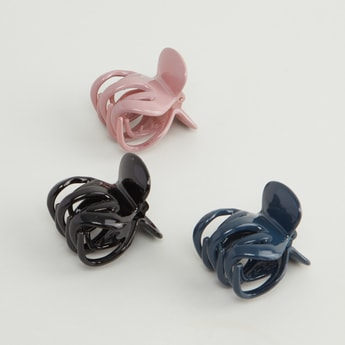 Set of 3 - Plain Hair Clamps