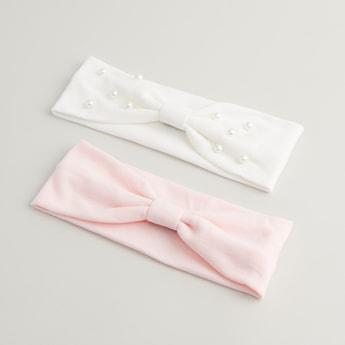 Set of 2 - Embellished Hairband