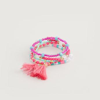 Beaded 5-Piece Bracelet Set