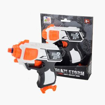 Blaze Storm Manual Soft Bullet Toy Gun Set