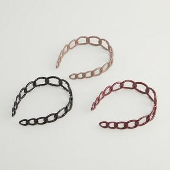 Set of 3 - Cutout Headbands