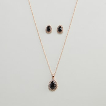 Necklace and Stud Earrings Set