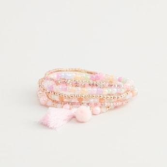 Set of 6 - Embellished Bracelet