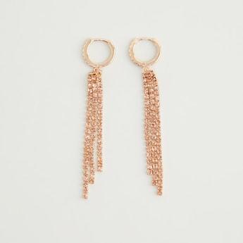 Studded Dangler Earrings
