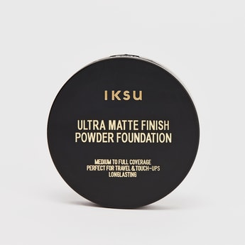 IKSU Ultra Matte Finish Powder Foundation