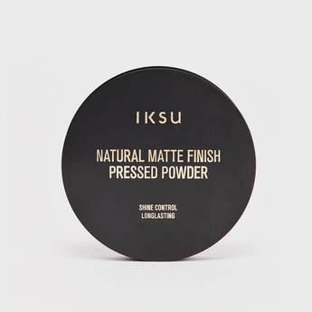 IKSU Natural Matte Finish Pressed Powder