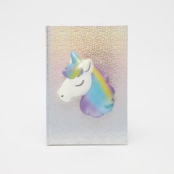Unicorn Applique Detail Notebook