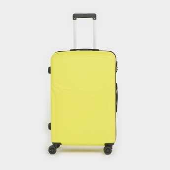 Solid Hard Case Trolley Bag with Retractable Handle
