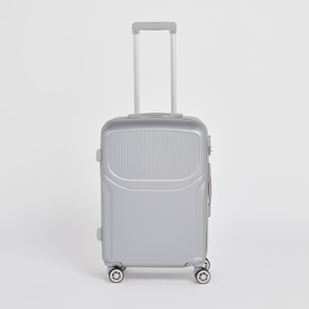 Hard Shell Suitcase with Caster Wheels and Telescopic Handle - 44x26x66 cms