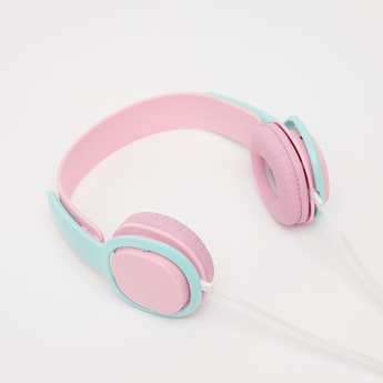 Dual Tone Over-Ear Headphones with 3.5 mm Jack