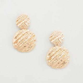 Textured Dangling Earrings