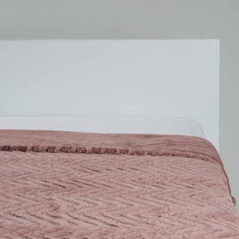 Textured Bed Throw