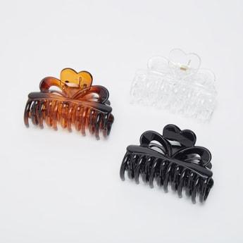 مشابك شعر متنوعة  - طقم من 3 قطع