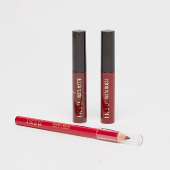 IKSU Insta Lips 3-Piece Make-up Set