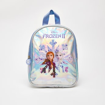 Frozen 2 Printed Backpack with Zip Closure