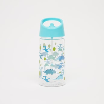 Printed Water Bottle with Flip Spout - 500 ml