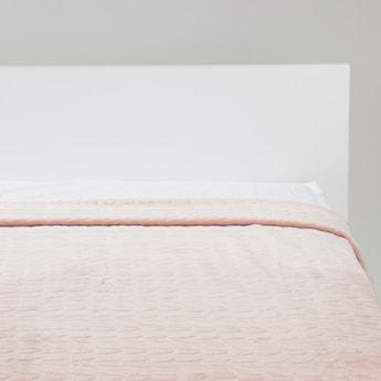 بطانية بارزة الملمس - 220x200 سم