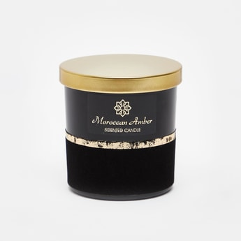Moroccan Amber Scented Jar Candle