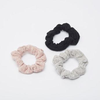 Set of 3 - Textured Hair Ties