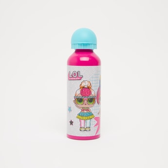 L.O.L. Surpise! Print Water Bottle with Spout and Flip Lid - 500 ml