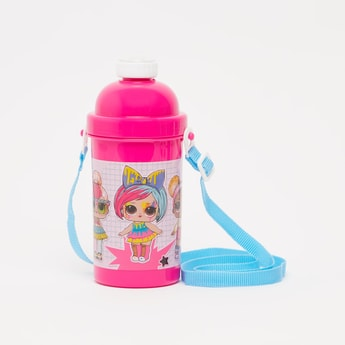 L.O.L. Surpise! Print Water Bottle with Strap - 500 ml