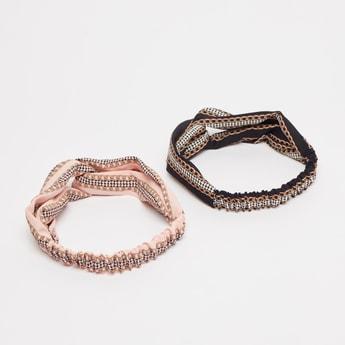 Set of 2 Printed Hairbands