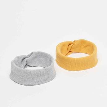 Set of 2 - Textured Headband with Twist Detail