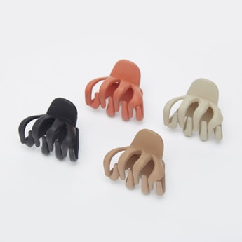Set of 4 - Solid Hair Clamps