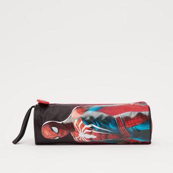 Spider-Man Print Pencil Case